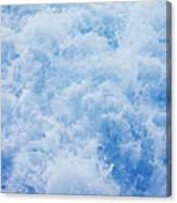 Churning Water Canvas Print