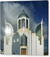 Church Of St. Peter And Paul, Ukraine Canvas Print