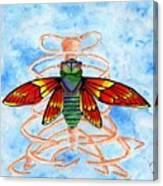 Cicada Cage Canvas Print