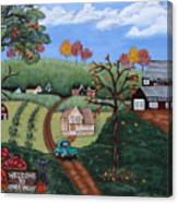 Cider Valley Canvas Print