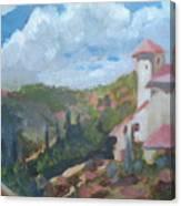 Cielo Villa Canvas Print