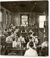 Cigar Factory, 1909 Canvas Print