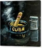 Cigar Canvas Print