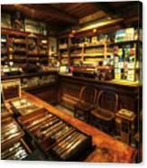 Cigar Shop Canvas Print