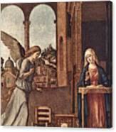 Cima Da Conegliano The Annunciation Canvas Print