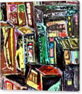 Cin City 2 Canvas Print