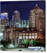 Cinci From The Opposite Side Canvas Print