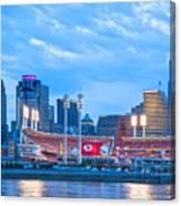 Cincinnati All Star Game  Canvas Print