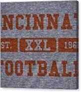 Cincinnati Bengals Retro Shirt Canvas Print