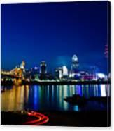 Cincinnati Boom Canvas Print