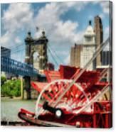 Cincinnati Landmarks 1 Canvas Print