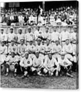 Cincinnati Reds, Baseball Team, 1919 Canvas Print