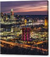 Cincinnati Sunrise Canvas Print