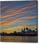 Cincinnati Sunset Canvas Print