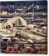 Cincinnati Union Terminal Canvas Print