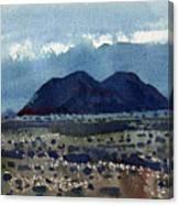 Cinder Cone Death Valley Canvas Print