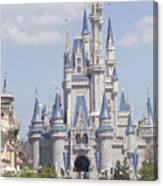Cinderella Castle At Walt Disney World Canvas Print