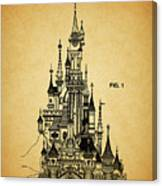 Cinderella Castle Patent Canvas Print