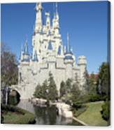 Cinderella Castle Reflections Canvas Print