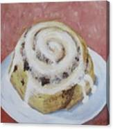 Cinnamon Roll Canvas Print