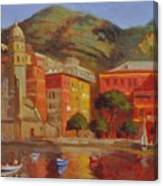 Cinqua Terra Italian Fishing Village Canvas Print