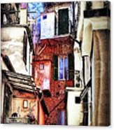 Cinque Terre All'aperto Canvas Print