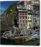 Cinque Terre Northern Italy Canvas Print