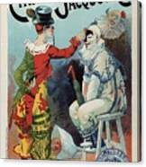 Cirage Jacquot And Cie - Vintage French Advertising Poster Canvas Print
