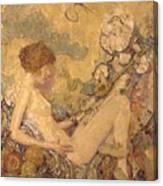 Circe And Anatol 1926 Canvas Print