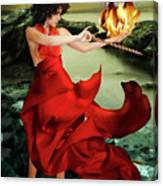 Circe, Greek Mythological Goddess Canvas Print