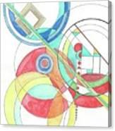 Circle Game Canvas Print