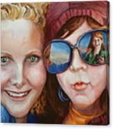 Circle of Sisters Canvas Print
