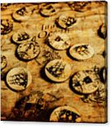 Circle Sails Canvas Print