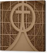 Circle T Church Canvas Print