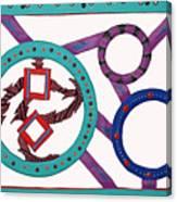 Circle Time Canvas Print