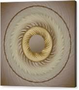 Circular Abastract Art 5 Canvas Print