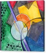 Circular Confusion Canvas Print