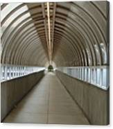 Circular Tunnel Canvas Print