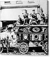 Circus Bandwagon, 1900 Canvas Print