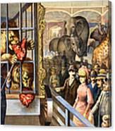 Circus Poster, C1891 Canvas Print