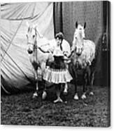Circus: Rider, C1904 Canvas Print