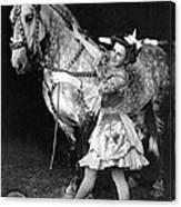 Circus: Rider, C1908 Canvas Print