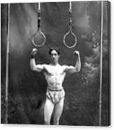 Circus Strongman, 1885 Canvas Print