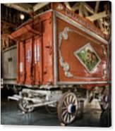 Circus Wagon Canvas Print