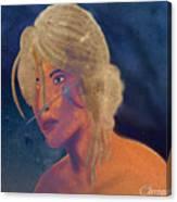 Ciri The Witcher 3 Wild Hunt Fanart Attempt Canvas Print