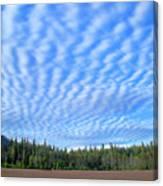 Cirrocumulus Clouds Over Mt. Mclaughlin Canvas Print