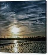 Cirrus Clouds Canvas Print