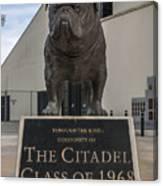Citadel Bulldog Canvas Print