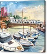 Citadel Of Minorca 01 Canvas Print