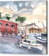 Citadel Of Minorca 03 Canvas Print